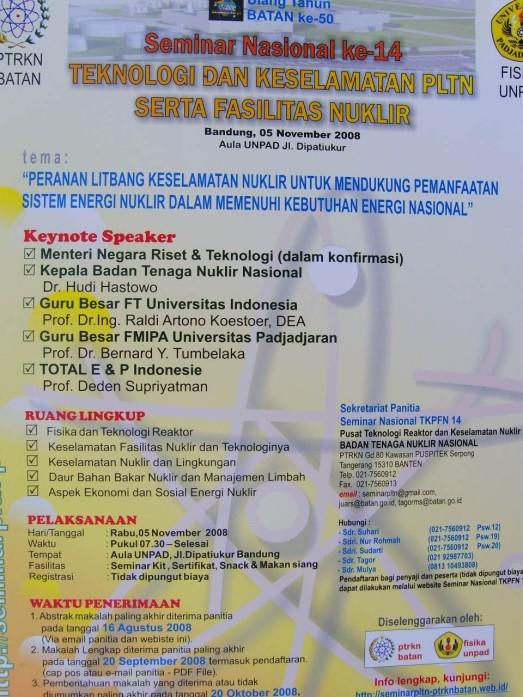 Seminar Teknologi Nuklir