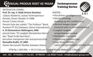 Iklan Republika Technopreneurship