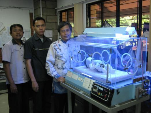 Tim Inkubator UI, Syarif, Rehan, Raldi.