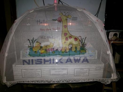 inkubator kelambu inovasi dari ibu Dini...
